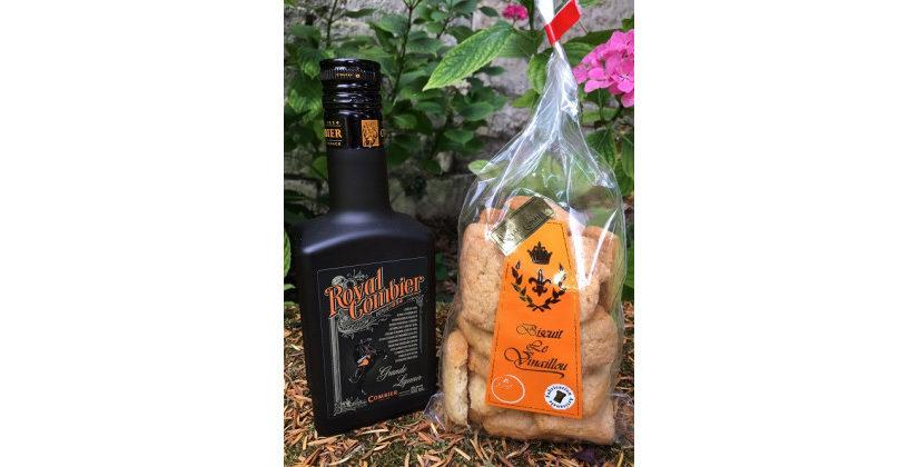 La liqueur de Royal Gombier et les biscuits le Vinaillou : un subtil mariage
