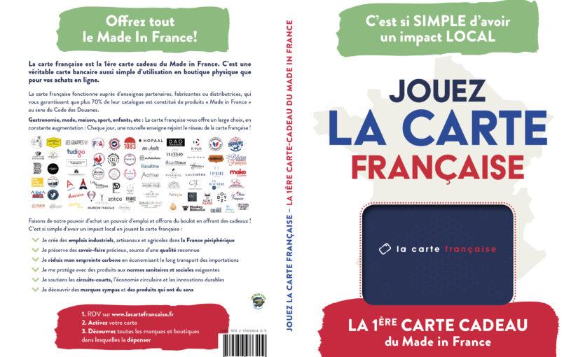 Monproduitdefrance et la Carte Française partenaire.
